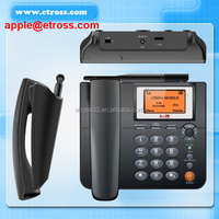ZTE 1 SIM card GSM Wireless Phone with LCD / Desktop Phone (900/1800MHZ) ,support SMS ,headset