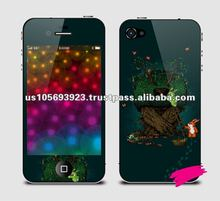 Cute tree 3D screen sticker for iphone4g/4s