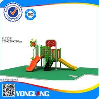 Outdoor kindergarten playground slides children's outdoor play