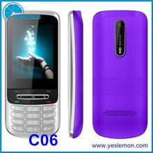 Manufacturer Companies Cellphones 2.4 QVGA Cell Phones Unlocked Low Cost FM Radio Torch Light Bluetooth Mobile Phones C06