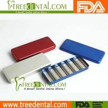B025 Multifunctiona pequeños instrumentos Bur desinfección caja dental cassettes para esterilización