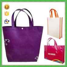 YTF-P-GWD065 Purple Tote Shopping Gift Bag Non Woven Wine Bag Wholesale