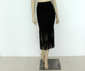 nuevo diseño de mujeres marginales más del tamaño falda falda formal