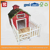 Colorful Wooden Dog House Christmas House