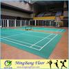 badminton court pvc sports flooring mat/ pvc/vinyl flooring