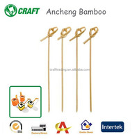 Wholesale Knot Natural Bamboo Skewers