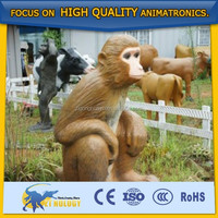 Cetnology Hot Sale!Lifelike Animatronic Animal Monkey Model