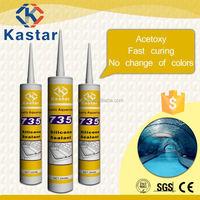 excellent adhesion aquarium silicone sealant