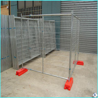 widely used Australia style powder coated galvanized temporary fence for dog