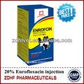 10% enrofloxacina injetavel antibióticos para animais de grande porte usar antibacteriana