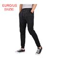 Venta al por mayor 2015 hombres últimos deportes diseño pantalones con cordón negro envío gratis