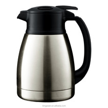 2015 hot sale stainless steel double wall vacuum insulated coffee pot/Stainless Steel Thermal Carafe with handle