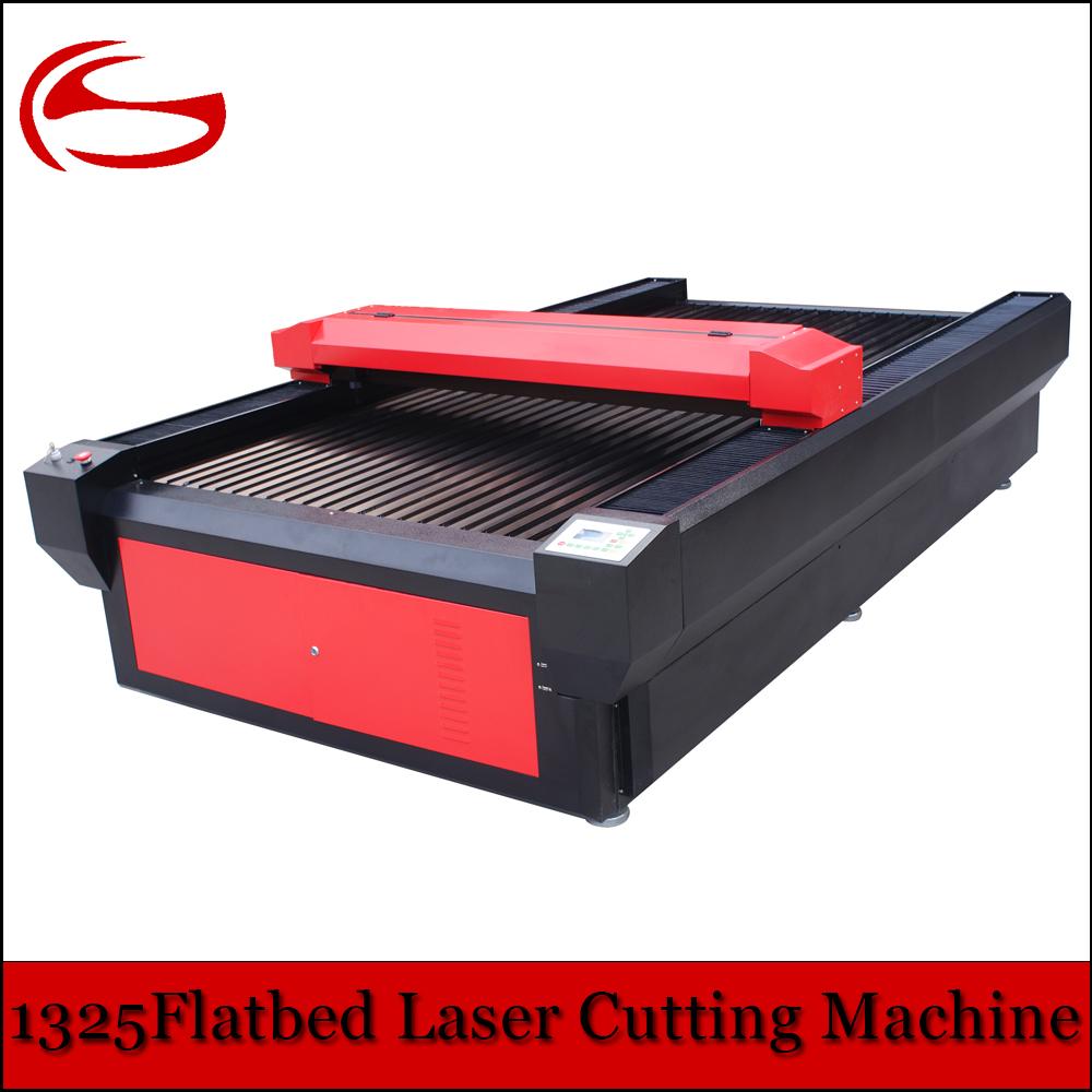 1325 1300x2500mm Lazer oyma ve kesme makinesi için MDF Akrilik Ahşap Kumaş
