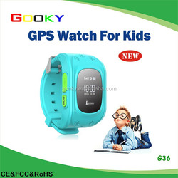 Remote tracking your kids SOS button mini gps bracelet child alarm