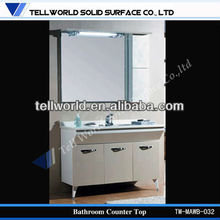 solid surface mirrored dresser with drawers for women