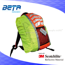 3M reflective waterproof rucksack cover for outdoor sports/reflective bag cover for safety