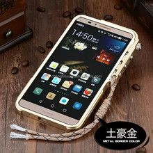 new products aluminum metal shockproof phone case For huawei ascend mate 7