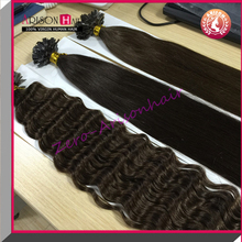 2015 Arisonhair Hot selling I,U,V,flat tip pre bonded hair extension Vietnam hair