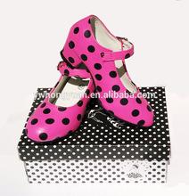 Zapatos para Chicas de flamenco zapatos de baile dama española Flamenco Schoenen Zapato de flamenco