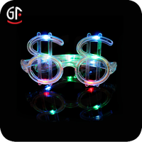 Advertising Glasses Gifts 2015 Dollars eyes sunglasses Cheap Blue Party Sunglasses