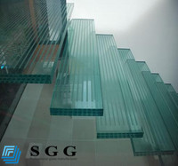 Excellence quality tempered laminated glass price