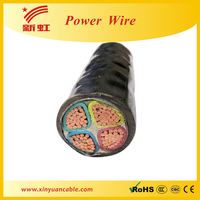 PVC Sheathed Cable, 4 Core (3 x 300mm+150mm). Un-Armored, Copper Conductors, XLPE,Voltage Rating:600/1000V
