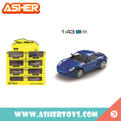 factory price new design metal cars 1:43 diecast model car
