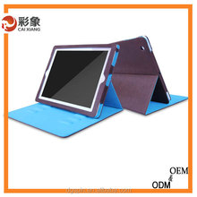2015 new products Fashion cute Design Smart Tablet Leather Case Cover For Ipad 6 for Ipad Air 2 With Stand