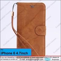 Vintage Embossed Flower Wallet Leather Card Pocket Cover Skin Case for iPhone 6