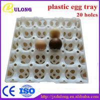 Plastic transferring 20-cell egg tray