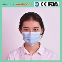 Medical Consumables nonwoven disposable face mask daily supplies