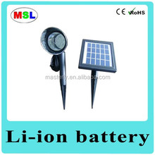 2015 new design Solar led garden light Pole/ Excellent outdoor light for garden solar light in China manufacture