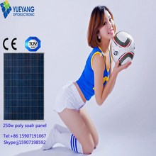 High quality good 5 watt solar panel portable solar kit 250w poly solar panel for Solar Power System with TUV