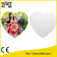 DO-IT manufacturer blank sublimation jigsaw,puzzle jigsaw