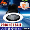 Round design rotatable led ceiling spot light cob cree chip 36w made in China