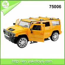 Open Door Metal Car Toy Pull Back Friction Metal Vehicle 1:12