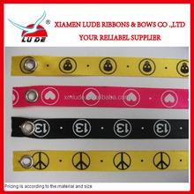 satin ribbon wrist strap,sport ribbon bracelet,fashion ribbon bracelet
