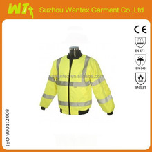 high quality Winter reflective jackets, thermal Work clothing meets EN471