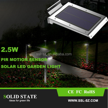46 LED Motion Sensor Security Solar Light Outdoor Waterproof LED Solar Garden Light