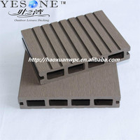 Factory price high quality wood plastic composite outdoor floor