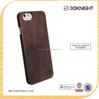 PC Wood Phone hard Cover Case, custom design wooden cell phone case for iPhone 6s, Blank Wood Case for Apple Iphone