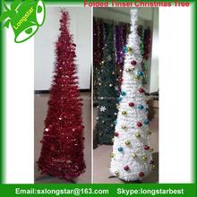 5ft Folded Christmas Tinsel Tree