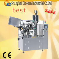 best price high quality cosmetic tube sealing machine grease tube filling machine