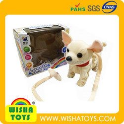 cute musical plush puppy battery operated stuffed soft toy