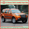 Not Used Toyota Diesel Tech SUVs but China New Right Hand Drive 4x4 Diesel SUVs