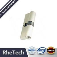 High quality Euro profile cylinder lock , Solid Brass lock cylinder