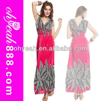 2014 Hot exotic strapless sleeveless sexy wholesale bohemian dress casual maxi long summer beach dresses