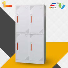 OEM/ODM accepted furniture from china office supply vertical metal mudroom furniture locker with 4 doors