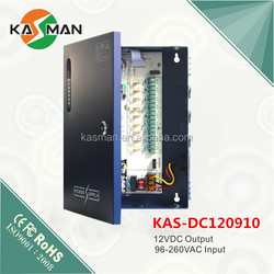 KASMAN 12VDC power box 9-CH switching power supply models KAS-DC120910