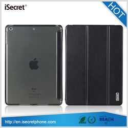 Available in stock ! slim tablet PU leather case cover for iPad air 9.7 inch tablet pc